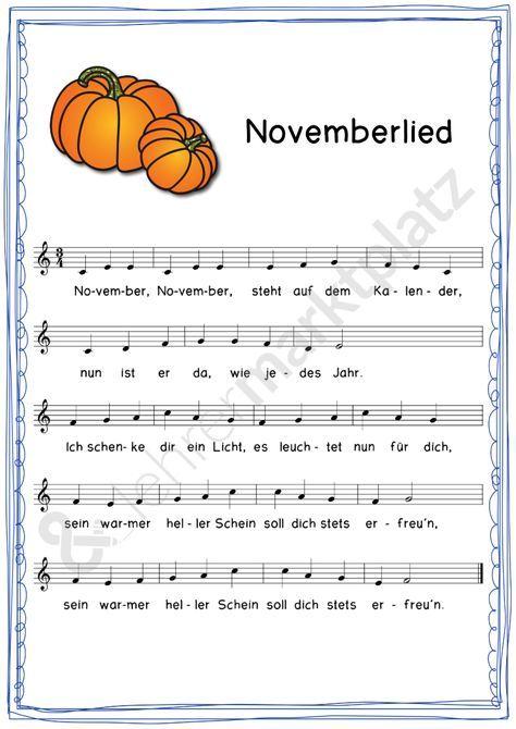 Lieder für das ganze Jahr – 12 hübsche Lieder begleiten uns in der Klasse oder…