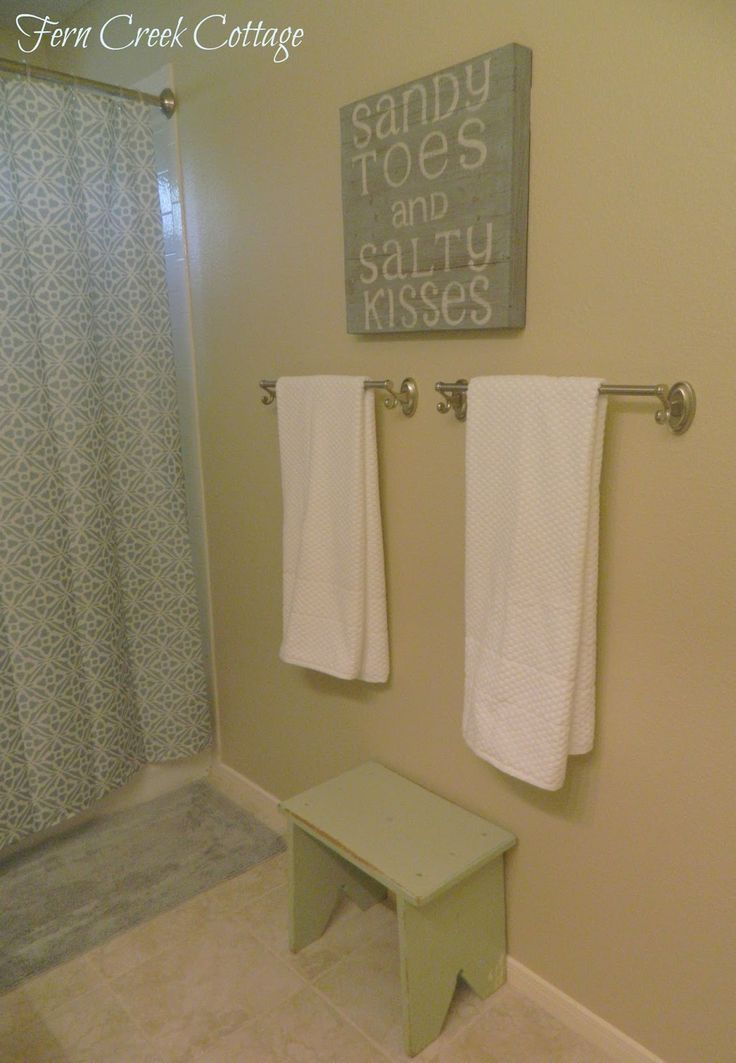 45 best images about beach themed bathroom on pinterest - Beach themed bathroom towel sets ...