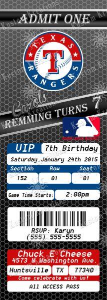 mlb-texas-rangers-ticket-2-birthday-invitation