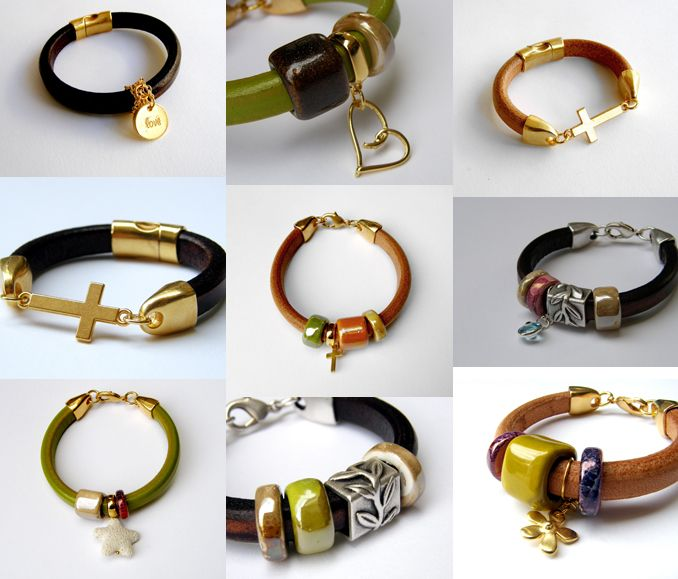 Licorice Leather Bracelets