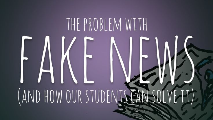 This quick video would be great for students to watch. It teaches a five-step process on how to combat fake news.