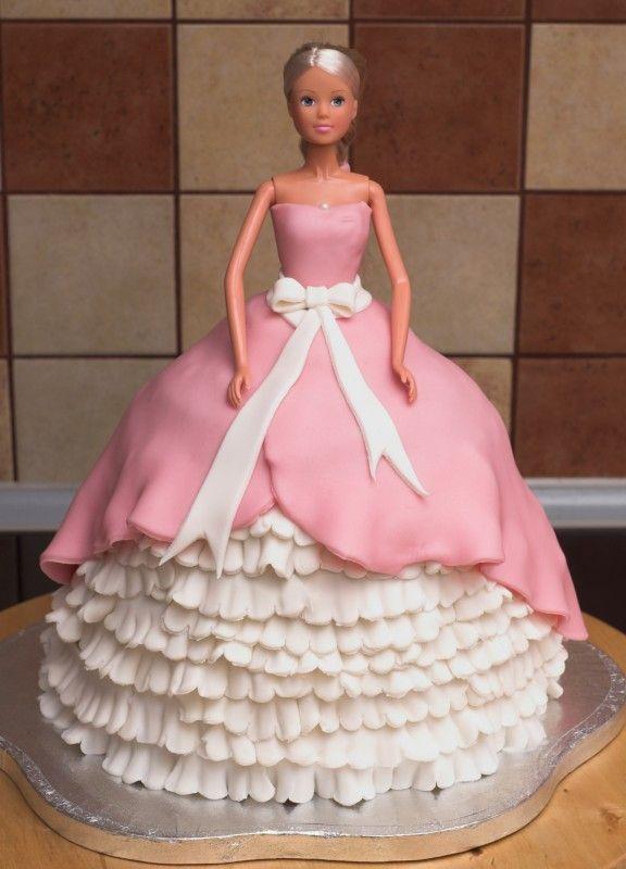 tort barbie - ewa