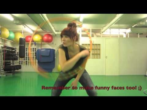 Funland Tricks presents: Vertical chest hooping with a barrel roll - YouTube