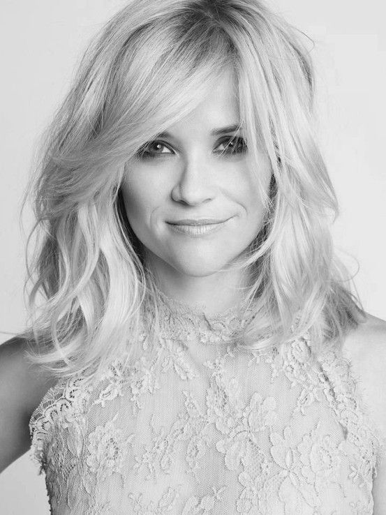 Reese Witherspoon - great haircut!!! Even with how thin my hair is there is a possibility this cut might work.