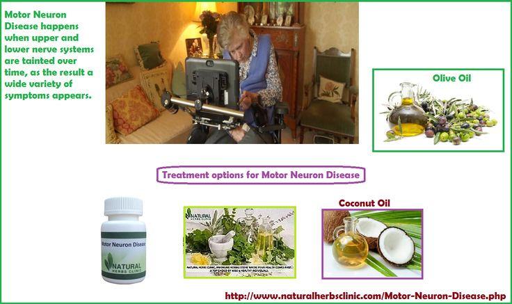 During theMotor Neuron Disease Treatment, it is important for the patient to maintain a nutritionally balanced intake and reasonable calorie intake. It is advisable to make an appointment with nutritionist to make basic changes on nutritional plan.... http://www.naturalherbsclinic.com/best-treatment-for-motor-neuron-disease