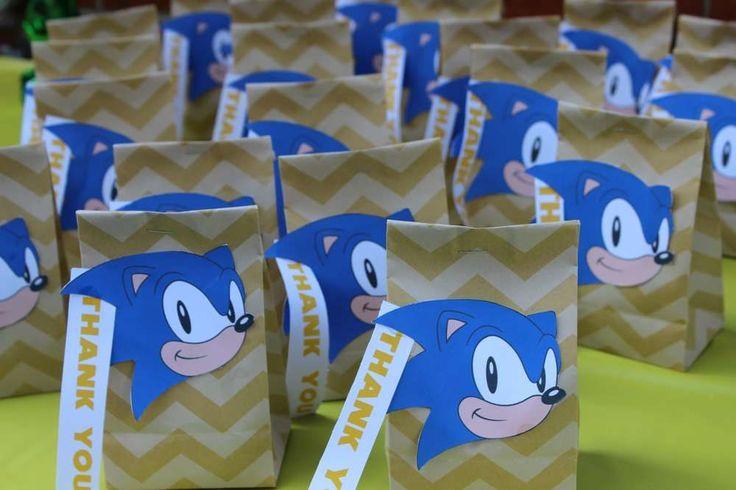 Sonic the Hedgehog Birthday Bash | CatchMyParty.com