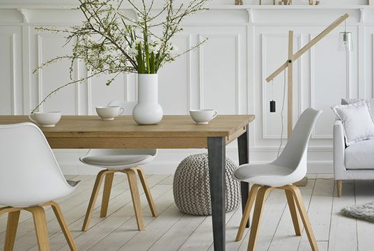 D co int rieure chaises scandinaves esprit nordique et for Ambiance et decoration