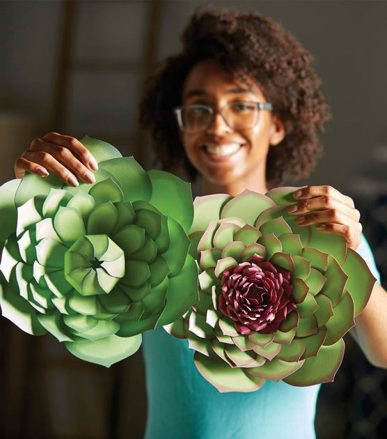 Make Paper Crafted Succulents