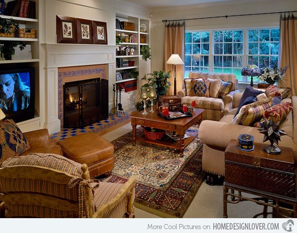 Country Style Living Room Ideas Decor Unique Design Decoration