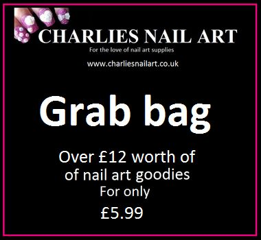 Charlies Nail Art - Nail art grab bag, £5.99 (http://www.charliesnailart.co.uk/nail-art-grab-bag/)