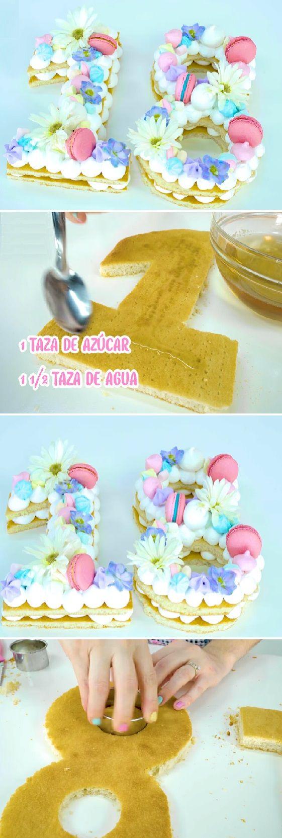 Cómo Hacer PASTEL EN TENDENCIA 2018 DE NÚMEROS CASERO PERFECTO sin defectos !! #receta #recipe #casero #torta #tartas #pastel #nestlecocina #bizcocho #bizcochuelo #tasty #cocina #chocolate   INGREDIENTES BIZCOCHO: (ésta cantidad es para que te salgan 4 bizcochos)  – 12 huevos  – 3 tazas de harina de...