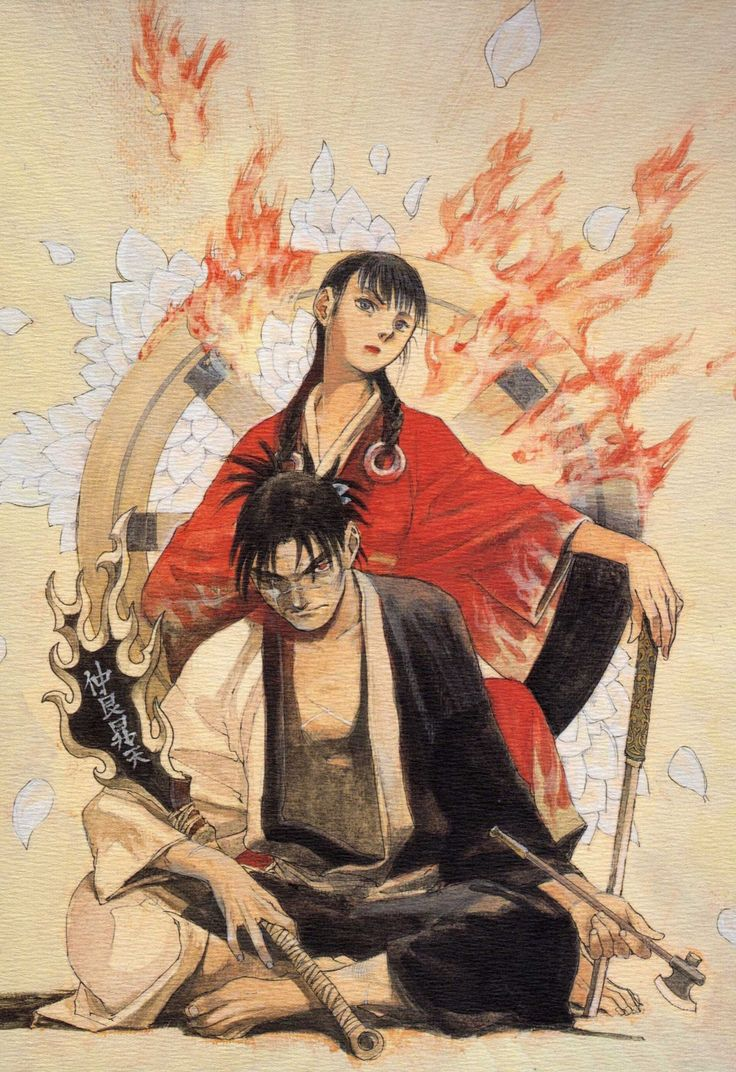 Blade of the Immortal - One of my favorite comics of all time. Amazing story, gorgeous artwork, and incredible characters.