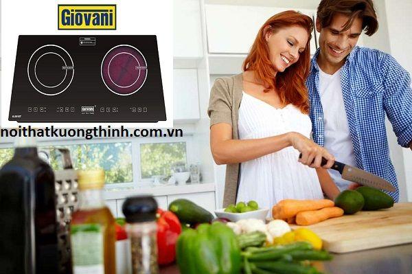 Sử dụng bếp điện từ Giovani có tốt không?: