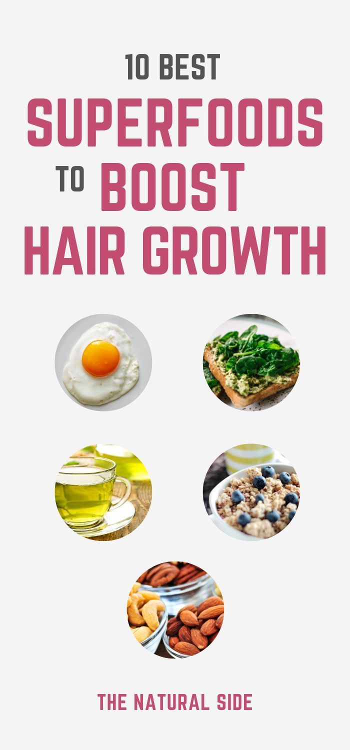 10 Best Superfoods To Boost Healthy Hair Growth Diet And Nutrition Can Have A Big Effect On Hair And Skin Foods For Hair Loss Hair Food Healthy Hair Growth