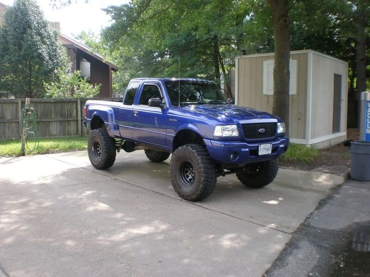 "2002 ford ranger edge lift kit | Superlift, 3"" Body lift, 37x13.50's"