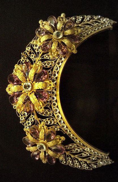 Frontlet ( hair ornament ), French, 19th century