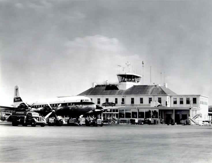 Birmingham Airport 1950's