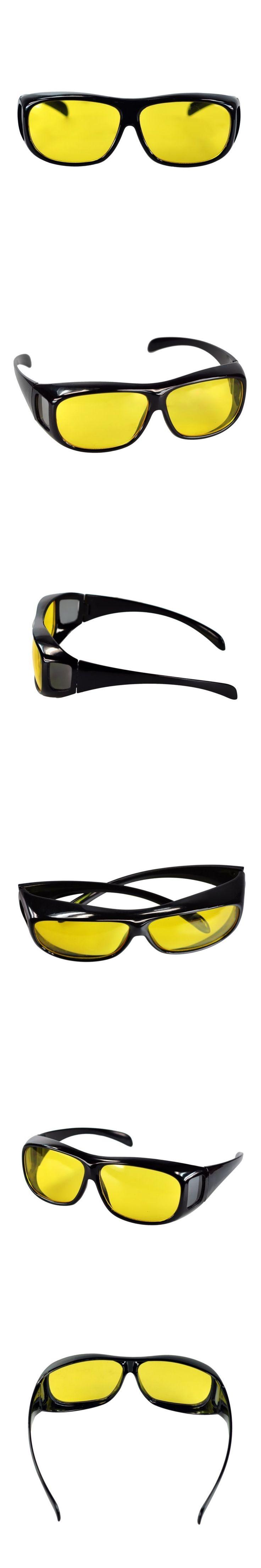 S9005 Eyekepper AC Yellow Night Vision Wraparounds Wrap Around Glasses