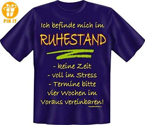 T-Shirt Ich befinde mich im Ruhestand navy Größe 3XL XXXL - T-Shirts mit Spruch | Lustige und coole T-Shirts | Funny T-Shirts (*Partner-Link)