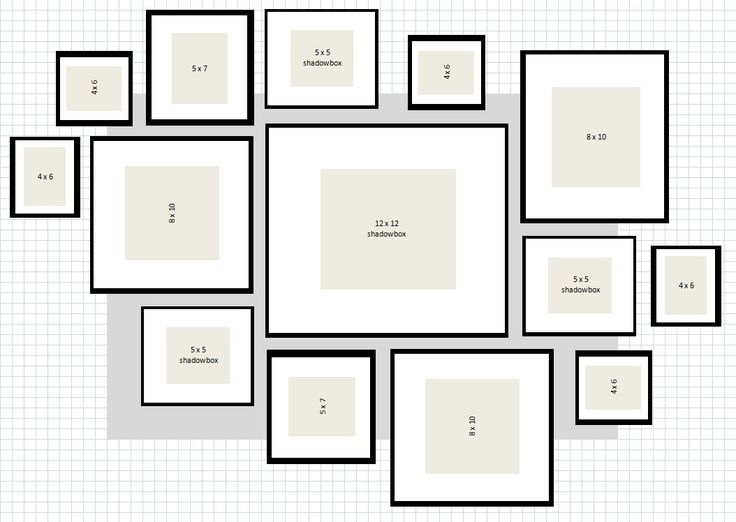 How To: IKEA Ribba Frame Gallery Wall. Would like to do this with my wedding photos