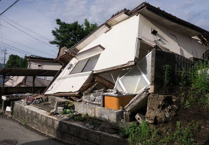 益城町被災住宅