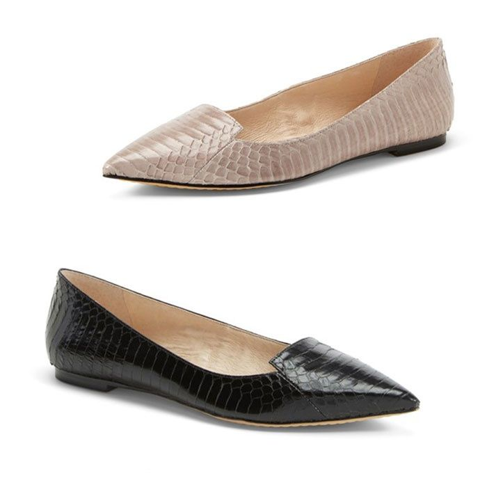 Rank & Style - Vince Camuto Empa Pointy Toe Loafer Flat #rankandstyle