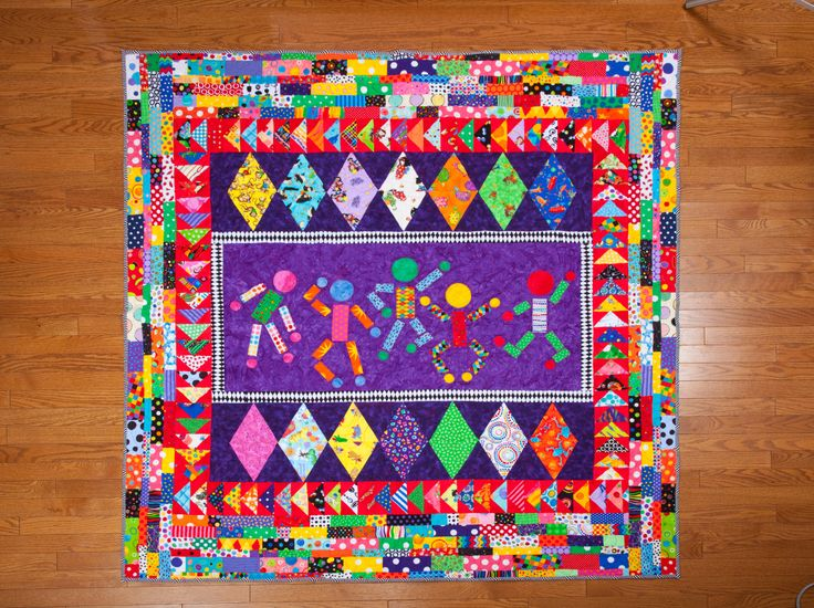 76 best kids quilts images on Pinterest | Colours, Contemporary ... : unique quilt blocks - Adamdwight.com