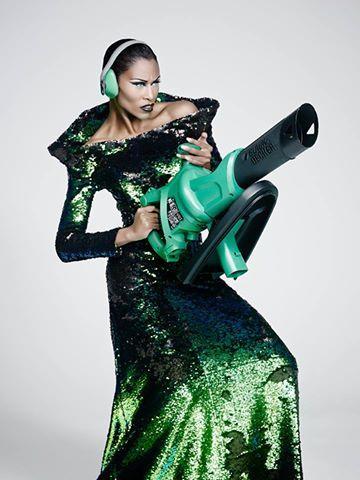 Photography Henk Bleeker, Ronald Kolk Couture, Make-up by Aron, Model Rosita Dameri