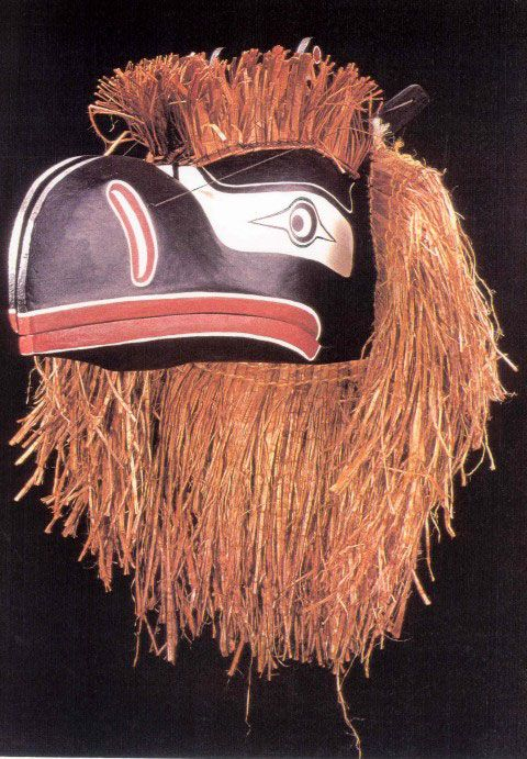 Raven Sisutl transformation mask | Northwest Coast region, British Columbia, Canada | 1996 | cc by-sa 3.0, The Children's Museum of Indianapolis | Randy Johnson