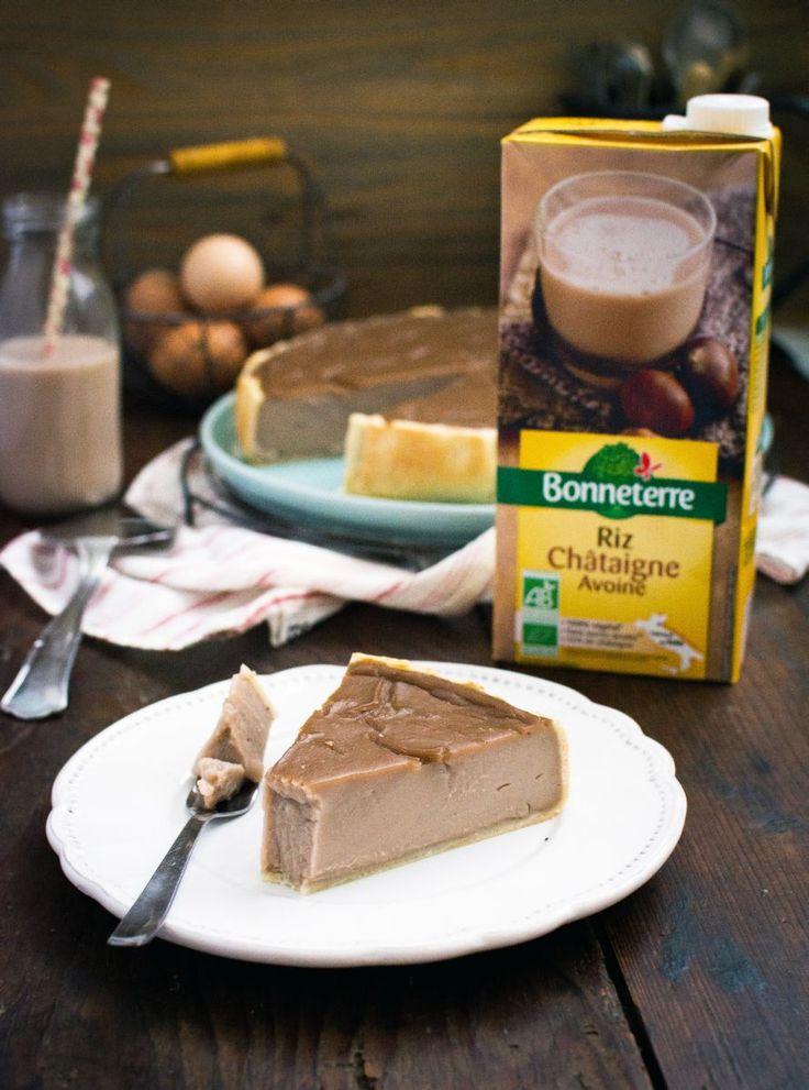 Flan pâtissier au lait végétal (riz châtaigne avoine) | Jujube en cuisine