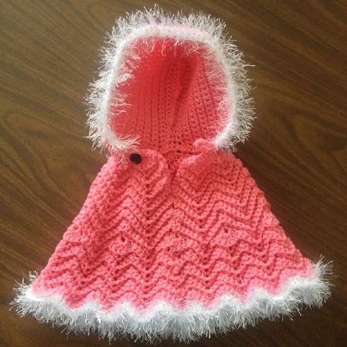 Crochet For Children: Baby Style Poncho - Free Pattern