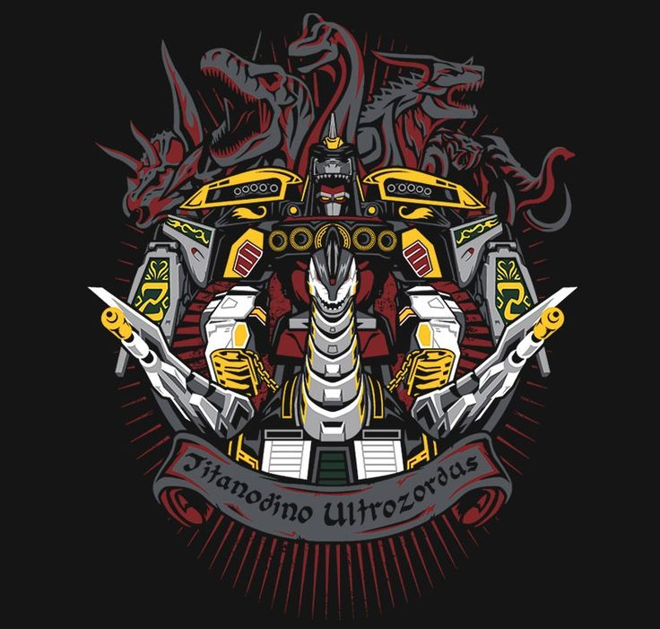 Titanodino Ultrozordus T-Shirt $11 Power Rangers tee at RIPT today only!