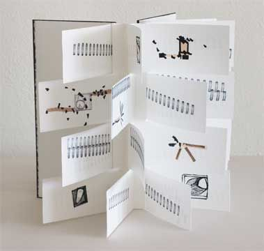 Handmade Books Artists | chinese star handmade book by rackycoo. beautiful use of materials and ...