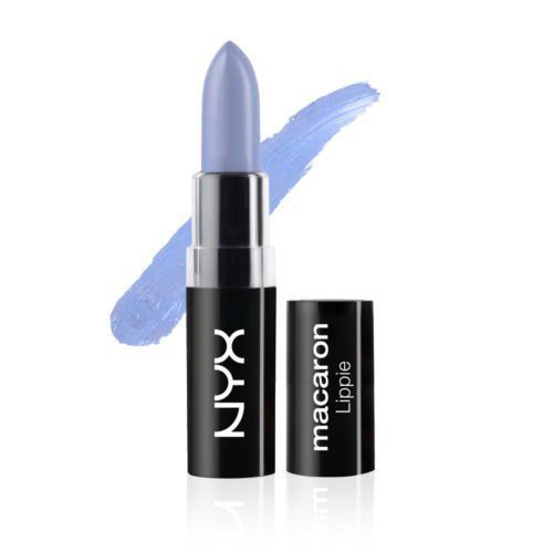 NYX Macaron Lippies Lipstick MALS 1 Color#EARL GREY (MALS08). Fantasize in color with our neon and pastel lippies in 12 of the creamiest shades you'll ever use. Our cruelty-free formula is packed with pigment and has a satin matte finish for long-wearing resilience.
