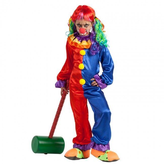 Déguisement Clown Diabolique fille #costumespetitsenfants #nouveauté2017