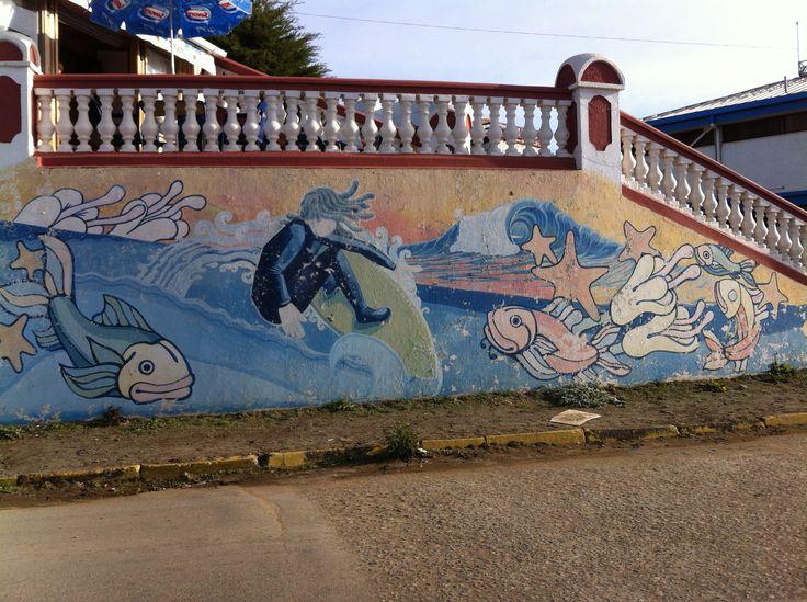 surfer Pichilemu, Chile