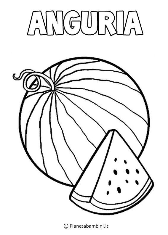 Disegni Di Frutta Da Stampare E Colorare Scuola