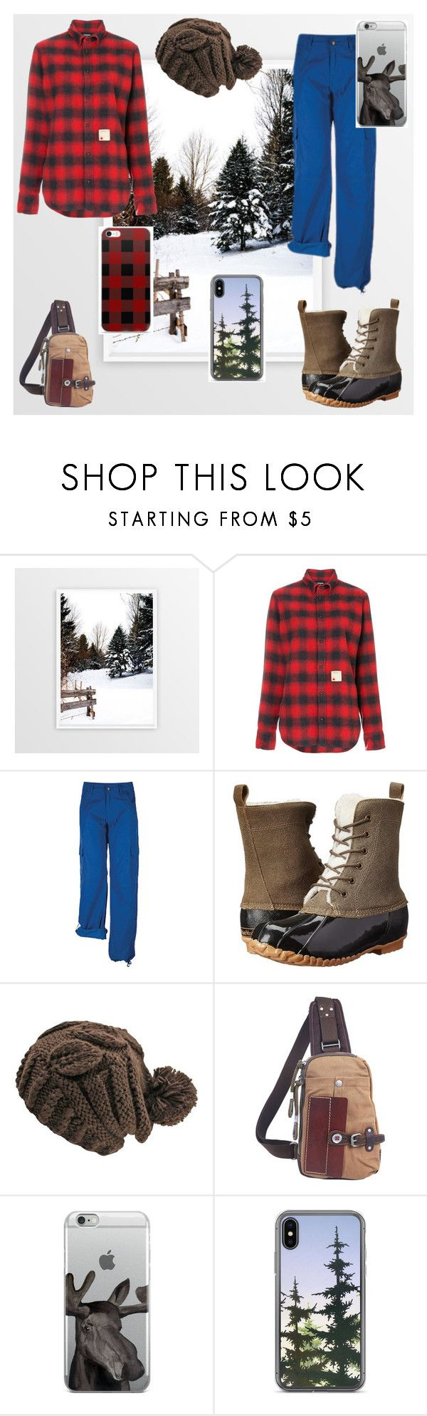 """""""Woods in Winter🇨🇦"""" by adanacmom ❤ liked on Polyvore featuring Dsquared2, Ojai Clothing, Maine Woods and TSD"""