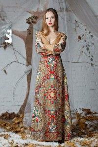 Одежда из платков от Ланы Зариньш |