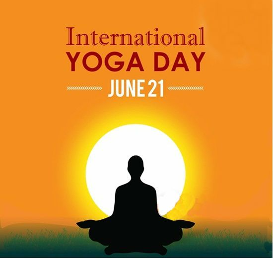 Yoga is not about self-improvement, it's about self-acceptance and it is our natural state. This World Yoga Day start resisting your natural state by doing yoga exercises. #WorldYogaDay