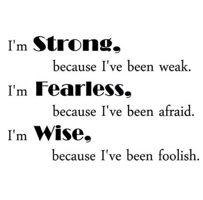 Strong fearless and wise