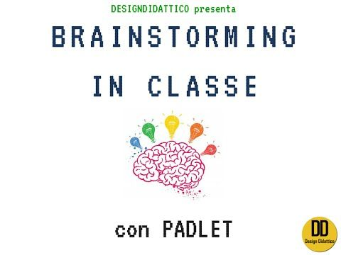 BRAINSTORMING e COOP LEARNING tutorial: Padlet come bacheca multimediale (By DesignDidattico) - YouTube