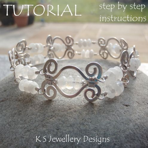 1000 images about tutorials wire wrap chain maille on for Hammered copper jewelry tutorial