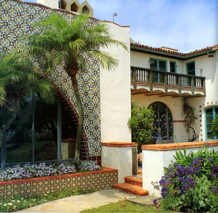 17 Best Images About Mediterranean Revival On Pinterest: 17 Best Images About Spanish Colonial Revival Courtyard