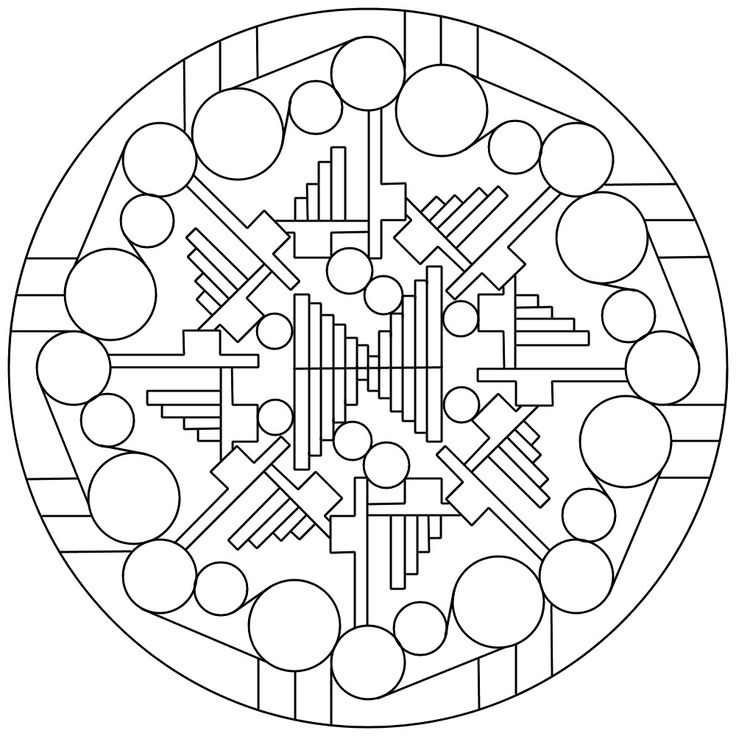 654 Best Images About Mandalas On Pinterest