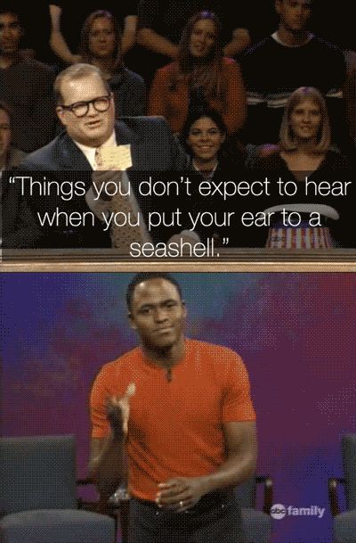 """When Wayne had some offstage help. 