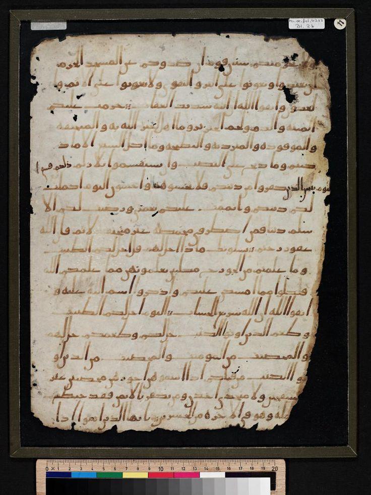 """Digitale Sammlungen der Staatsbibliothek zu Berlin: Werkansicht-Bu durum karşısında British Library'nin kutsal kitaplar uzmanı Dr. Muhammad Isa Waley ise duygularını; """"heyecan verici bu keşfin İslam dünyasını sevindireceğini"""" şeklinde ifade ediyor  Dolayısıyla, arkeolojik deliller Kuran ve mantık ışığında değerlendirildiğinde yapılan iddiaların geçersiz olduğu bilimsel olarak açıklanmıştır."""