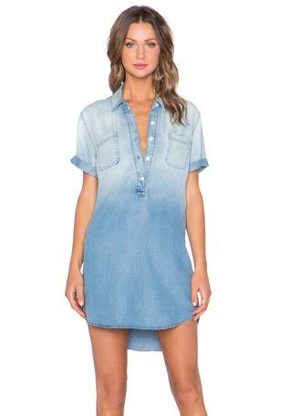 Henley Pocket Mini Dress