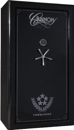 Cannon Safe CO43 Commander Series Premium 90 Minute Fire Safe, Hammer-Tone Black by Cannon Safe. $3395.00. From the Manufacturer                Built by Cannon Safe, the Commander Series model CO43 sets the world standard for how safes should look and protect. This luxury-packed safe provides the best combination of features, high security, and best-in-class fire protection. The silk-screened deluxe graphics package, hand-finished pin striping, and rounded edges create a hands...