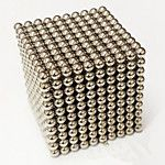 Toys Magic Toy Buckyball 216Pcs 5mm Executive Toys Puzzle Cube DIY Balls Magnetic Balls Magnet Toys Silver 2017 - $19.1